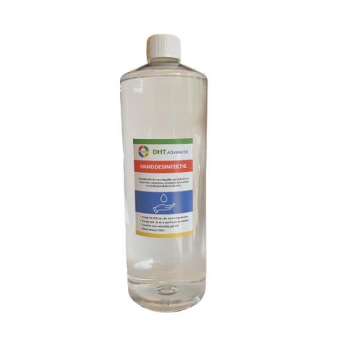 Handdesinfectie alcohol 1L, voordelig navulbaar